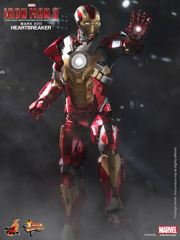 Preview | Hot Toys: Iron Man Mark XVII (Heartbreaker) (2)