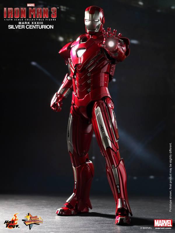 Preview | Hot Toys: Iron Man Mark XXXIII (Silver Centurion) (3)