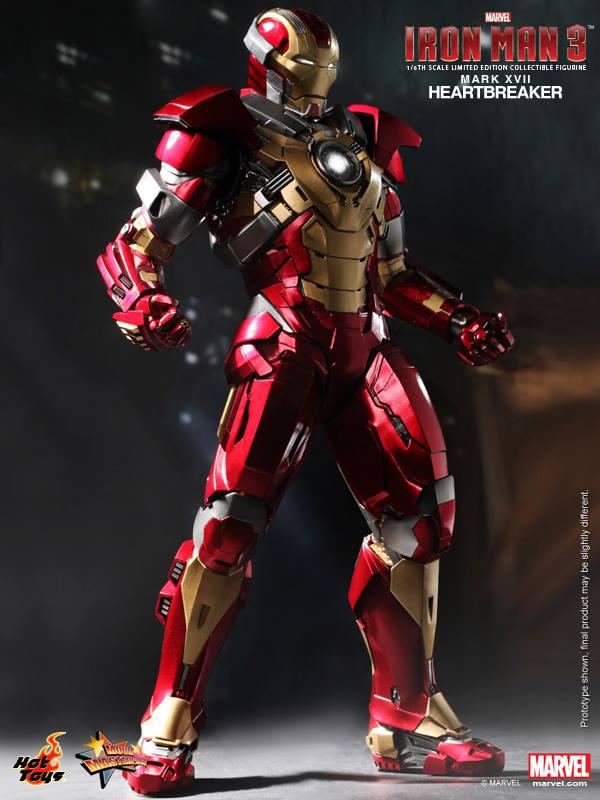 Preview | Hot Toys: Iron Man Mark XVII (Heartbreaker) (3)