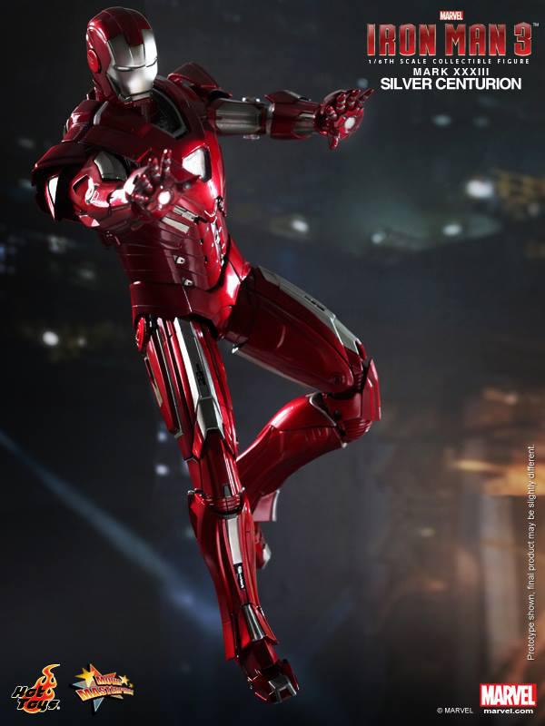 Preview | Hot Toys: Iron Man Mark XXXIII (Silver Centurion) (4)