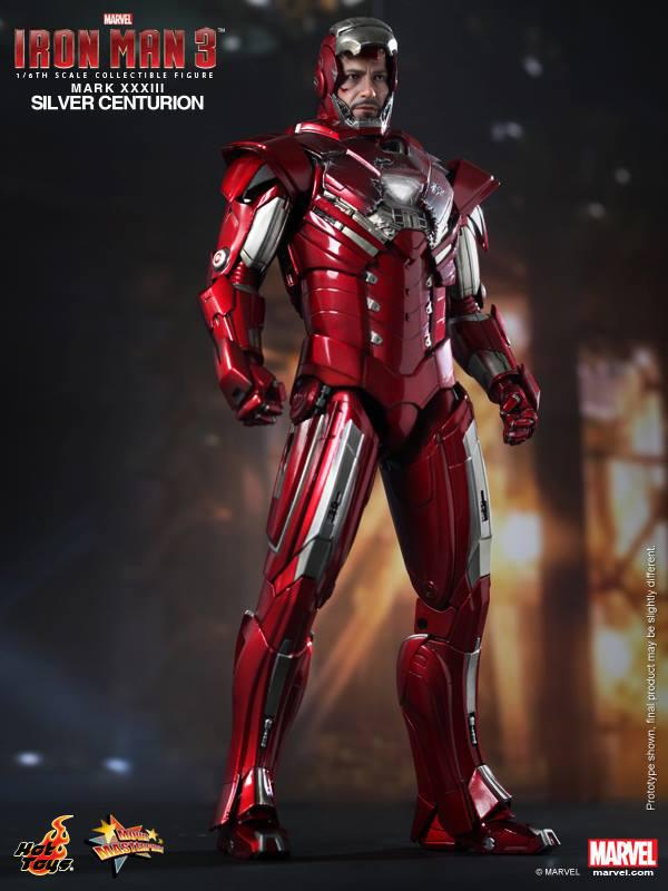 Preview | Hot Toys: Iron Man Mark XXXIII (Silver Centurion) (5)