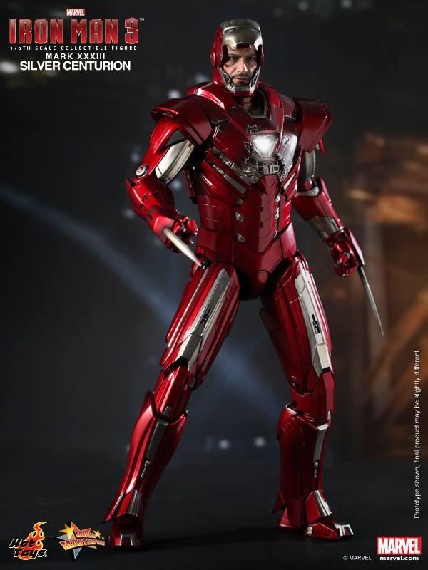 Preview | Hot Toys: Iron Man Mark XXXIII (Silver Centurion) (6)