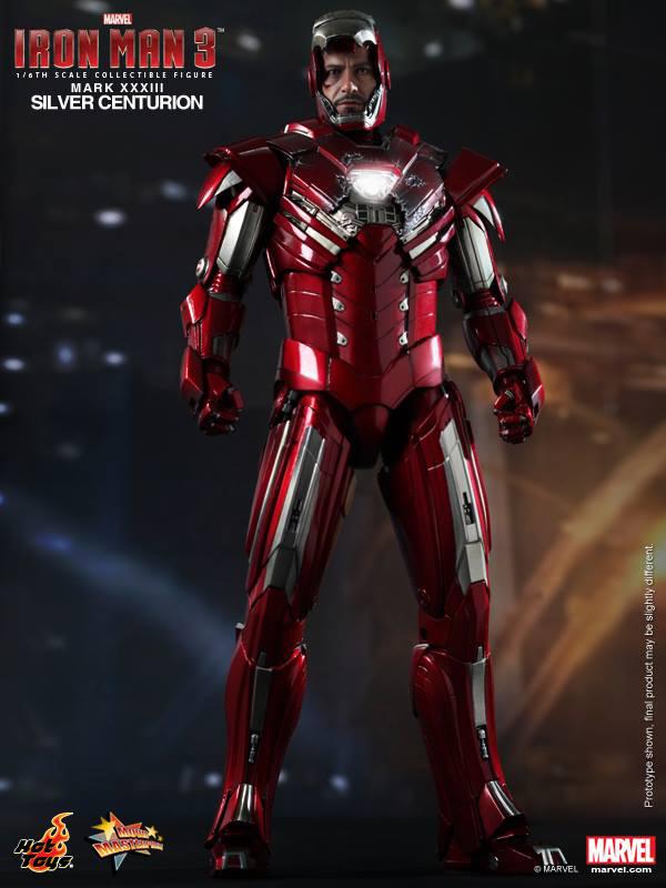 Preview | Hot Toys: Iron Man Mark XXXIII (Silver Centurion) (7)