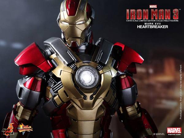 Preview | Hot Toys: Iron Man Mark XVII (Heartbreaker) (7)