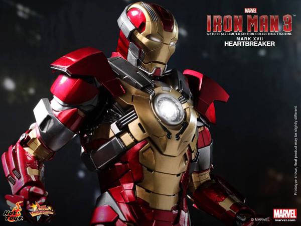 Preview | Hot Toys: Iron Man Mark XVII (Heartbreaker) (8)