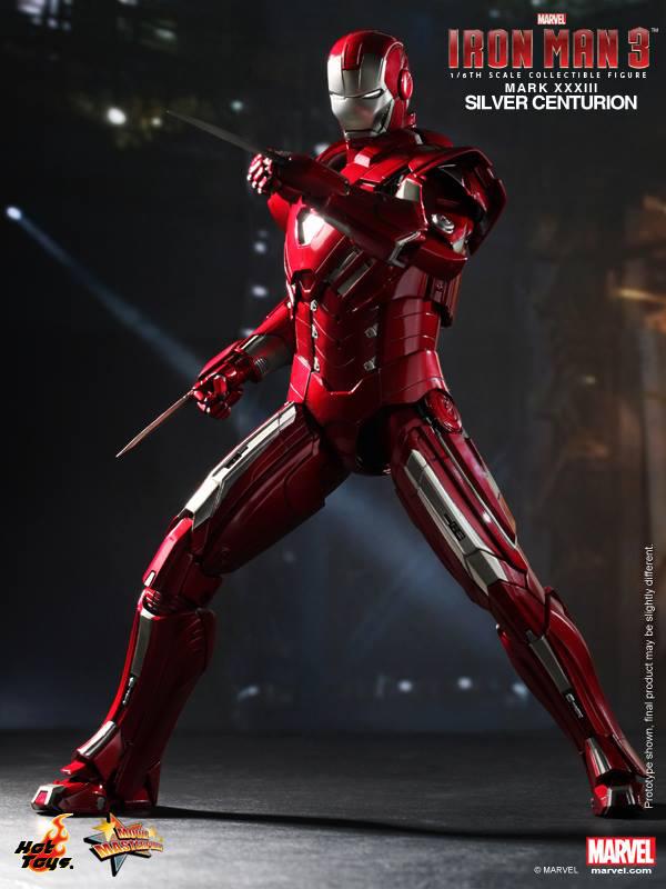 Preview | Hot Toys: Iron Man Mark XXXIII (Silver Centurion) (9)