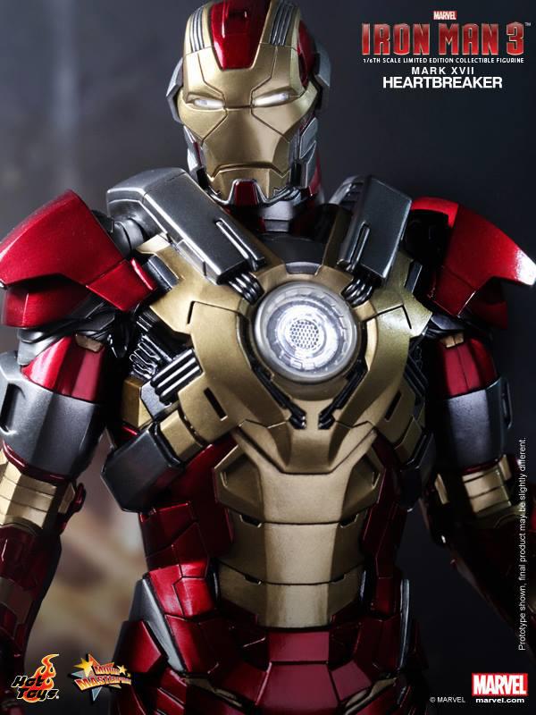 Preview | Hot Toys: Iron Man Mark XVII (Heartbreaker) (9)