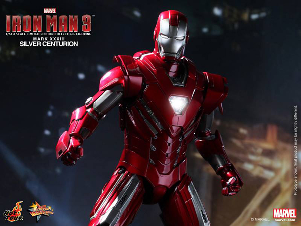 Preview | Hot Toys: Iron Man Mark XXXIII (Silver Centurion) (10)