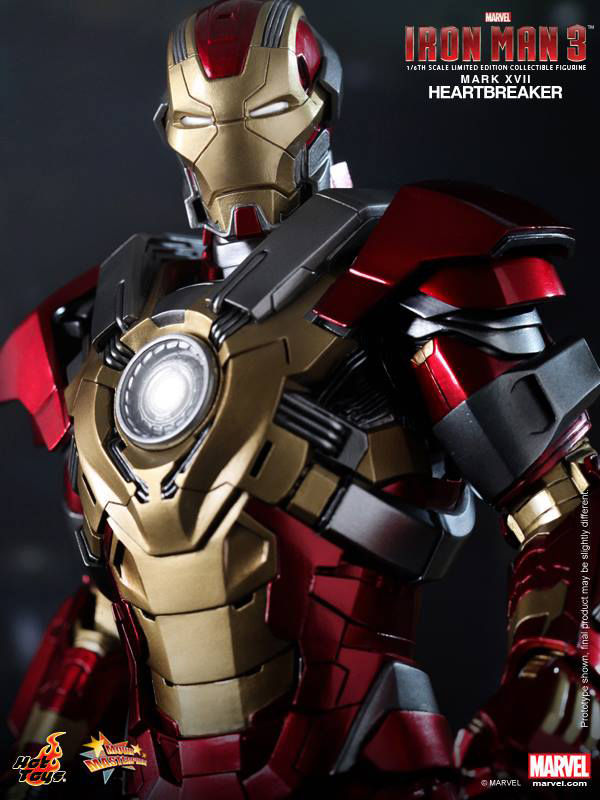 Preview | Hot Toys: Iron Man Mark XVII (Heartbreaker) (10)