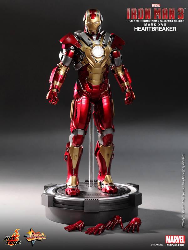 Preview | Hot Toys: Iron Man Mark XVII (Heartbreaker) (11)