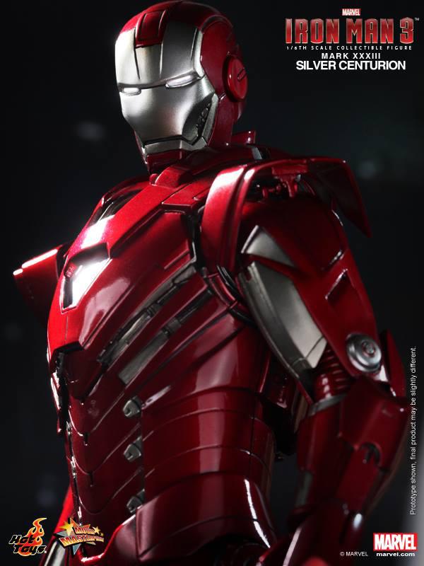 Preview | Hot Toys: Iron Man Mark XXXIII (Silver Centurion) (12)