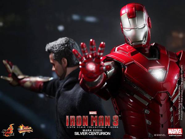 Preview | Hot Toys: Iron Man Mark XXXIII (Silver Centurion) (13)