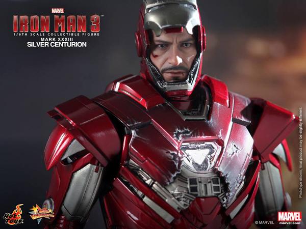 Preview | Hot Toys: Iron Man Mark XXXIII (Silver Centurion) (14)