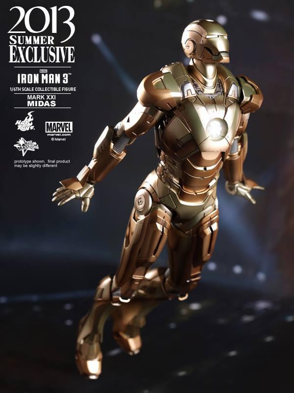 Preview | Hot Toys: Iron Man Mark XXI (Midas) (5)