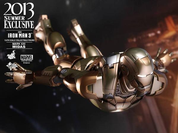 Preview | Hot Toys: Iron Man Mark XXI (Midas) (7)