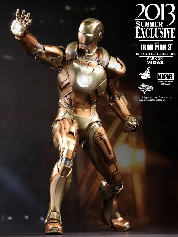 Preview | Hot Toys: Iron Man Mark XXI (Midas) (10)