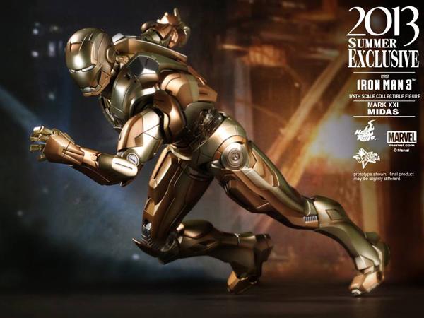 Preview | Hot Toys: Iron Man Mark XXI (Midas) (12)