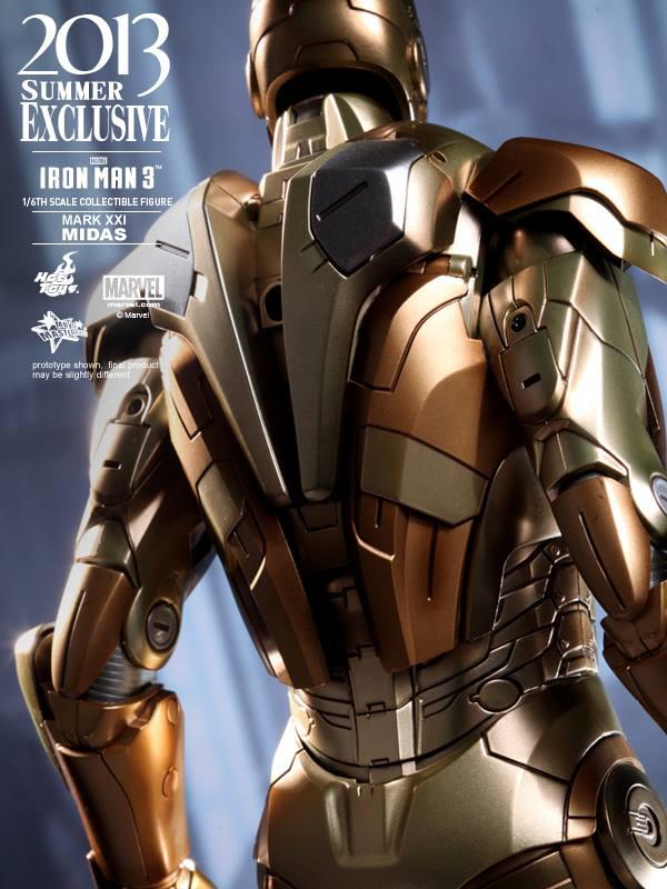 Preview | Hot Toys: Iron Man Mark XXI (Midas) (14)
