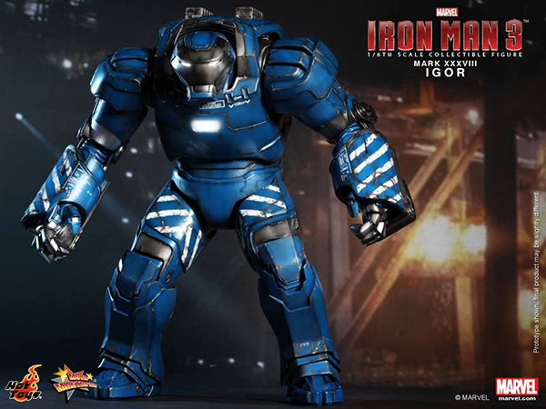 Preview | Hot Toys: Iron Man Mark XXXVIII (Igor) (1)