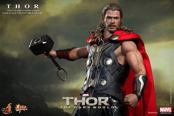 Preview | Hot Toys: Thor (Light Asgardian Armor Ver.) (1)