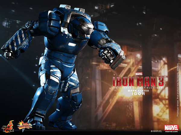 Preview | Hot Toys: Iron Man Mark XXXVIII (Igor) (2)