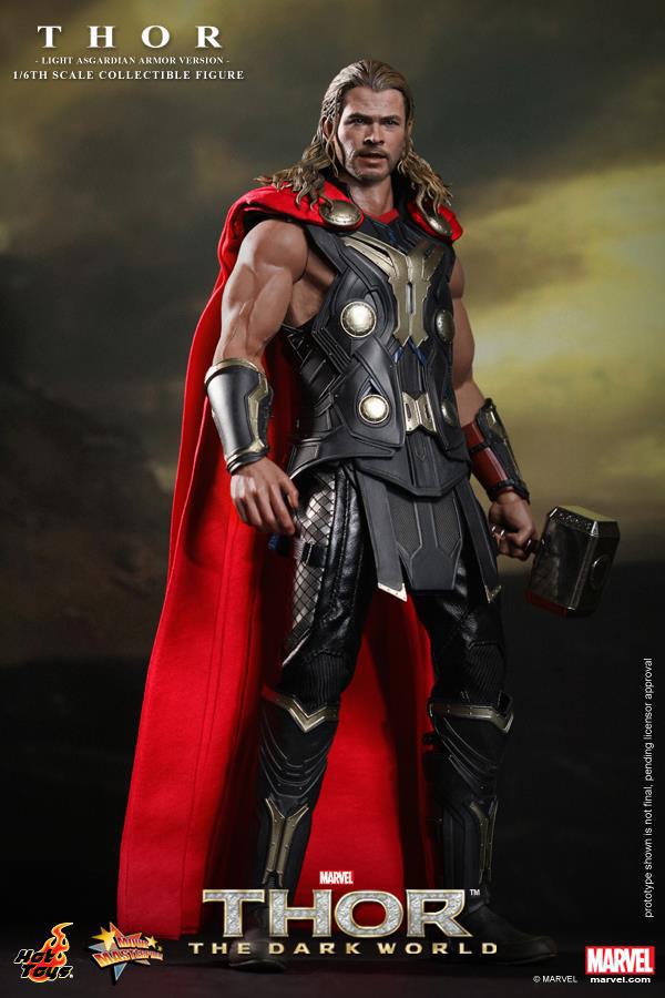 Preview | Hot Toys: Thor (Light Asgardian Armor Ver.) (2)