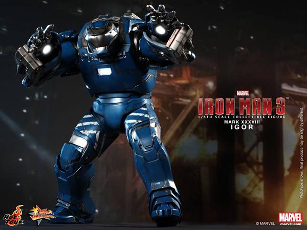 Preview | Hot Toys: Iron Man Mark XXXVIII (Igor) (3)