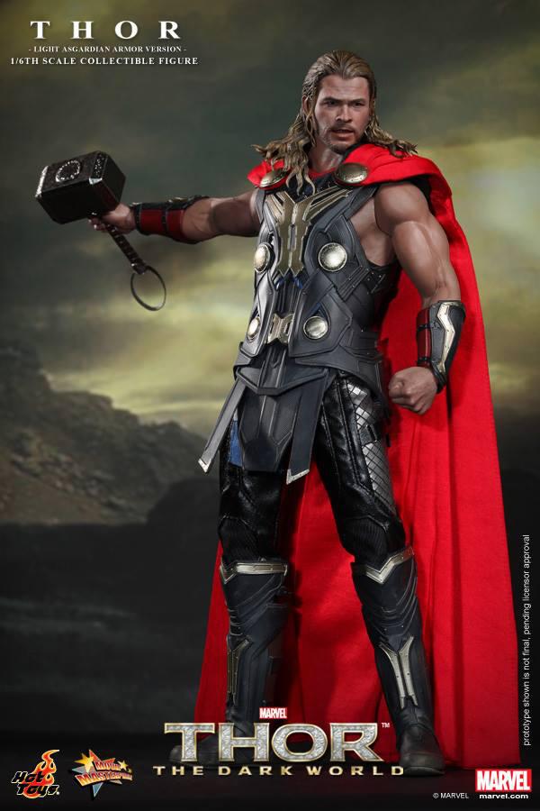 Preview | Hot Toys: Thor (Light Asgardian Armor Ver.) (3)