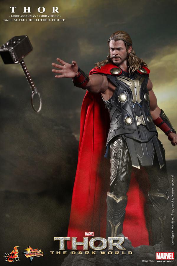 Preview | Hot Toys: Thor (Light Asgardian Armor Ver.) (4)