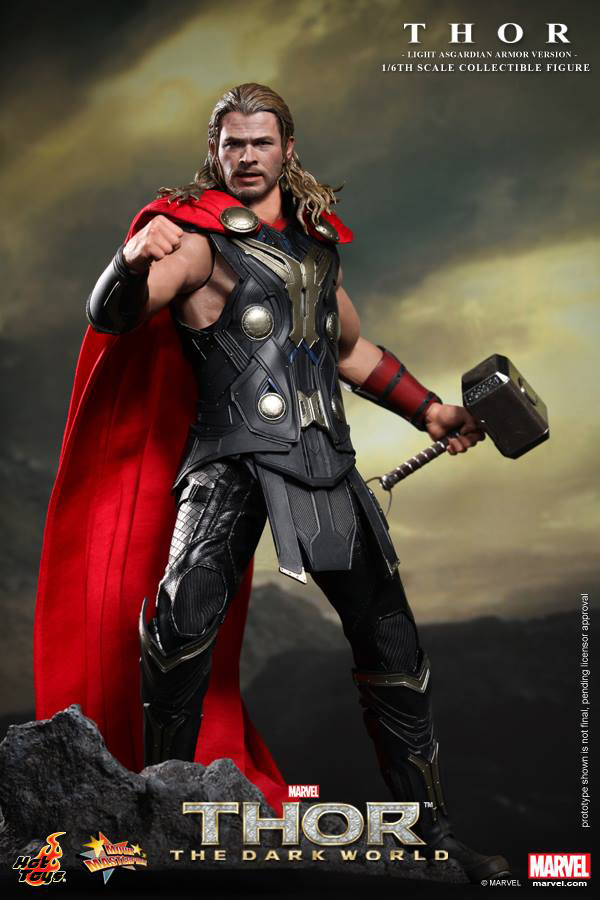 Preview | Hot Toys: Thor (Light Asgardian Armor Ver.) (5)