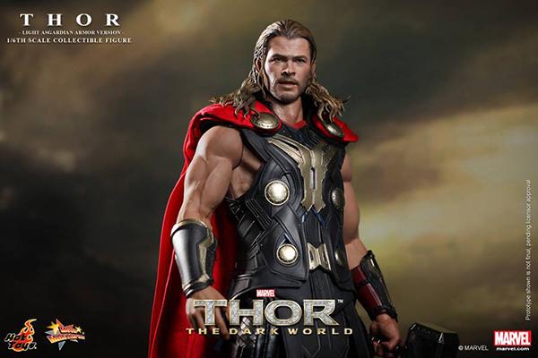Preview | Hot Toys: Thor (Light Asgardian Armor Ver.) (6)