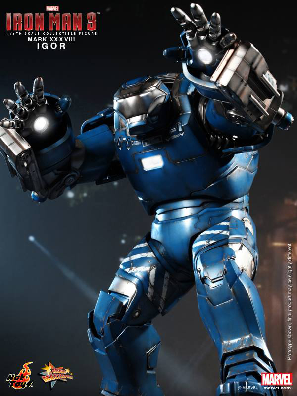 Preview | Hot Toys: Iron Man Mark XXXVIII (Igor) (7)