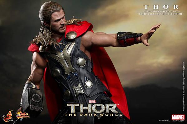 Preview | Hot Toys: Thor (Light Asgardian Armor Ver.) (7)