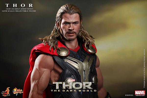 Preview | Hot Toys: Thor (Light Asgardian Armor Ver.) (8)