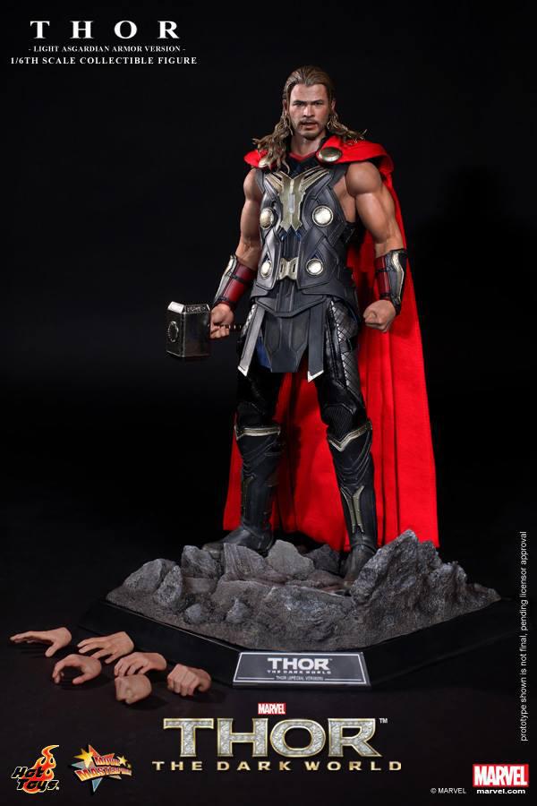 Preview | Hot Toys: Thor (Light Asgardian Armor Ver.) (9)