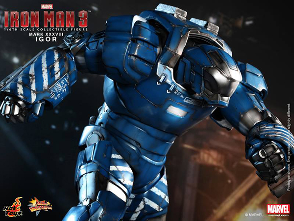 Preview | Hot Toys: Iron Man Mark XXXVIII (Igor) (12)