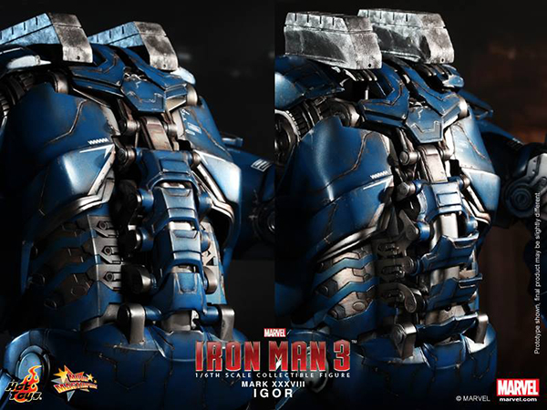 Preview | Hot Toys: Iron Man Mark XXXVIII (Igor) (15)