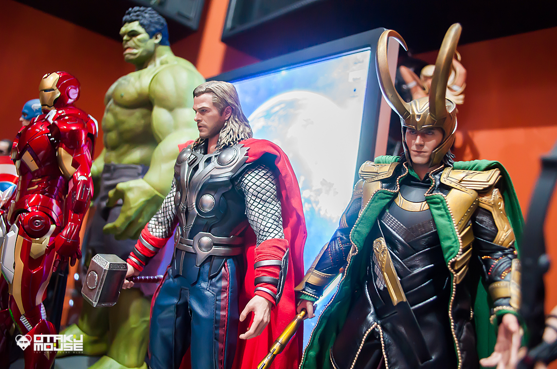 Hot Toys Avengers Line Complete (6)