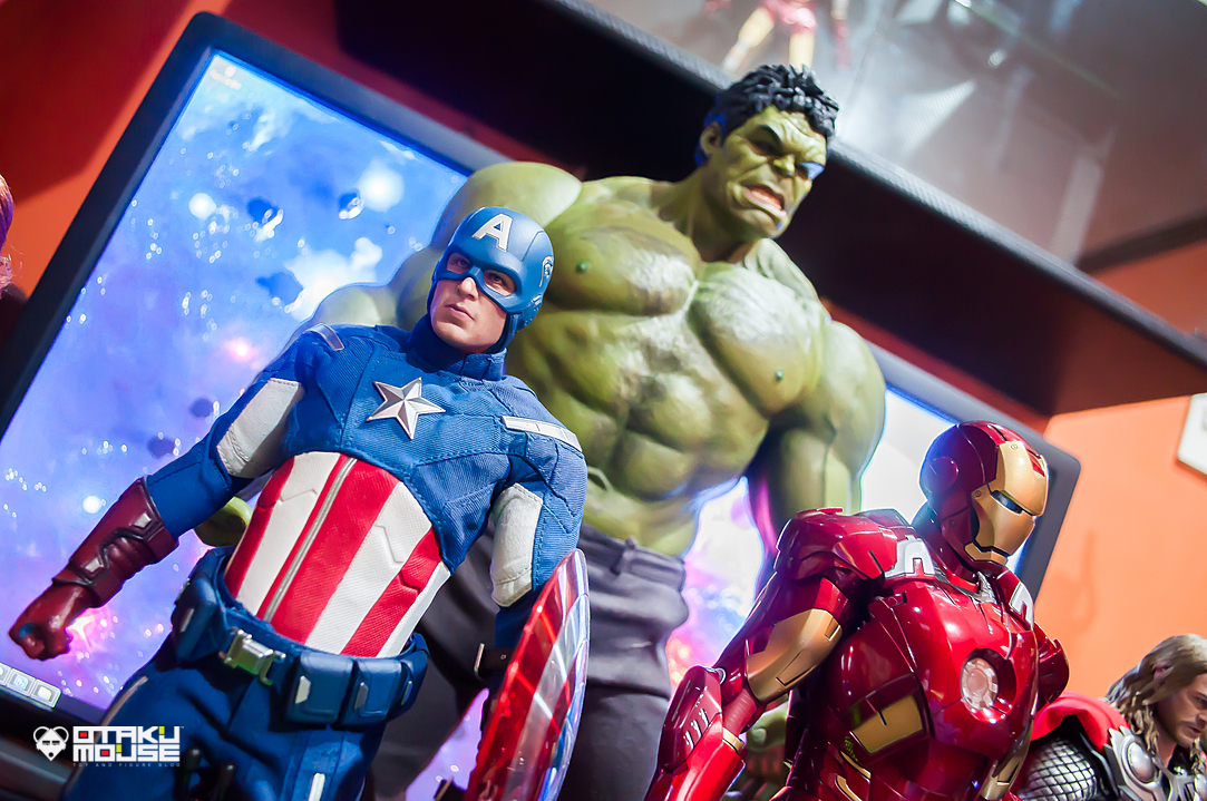 Hot Toys Avengers Line Complete (10)