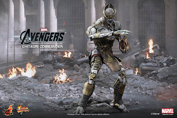 Preview | Hot Toys: Chitauri Commander (1)
