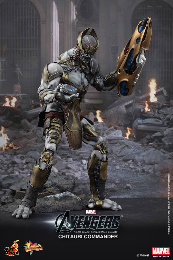 Preview | Hot Toys: Chitauri Commander (2)