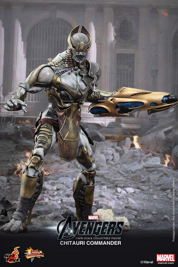 Preview | Hot Toys: Chitauri Commander (3)