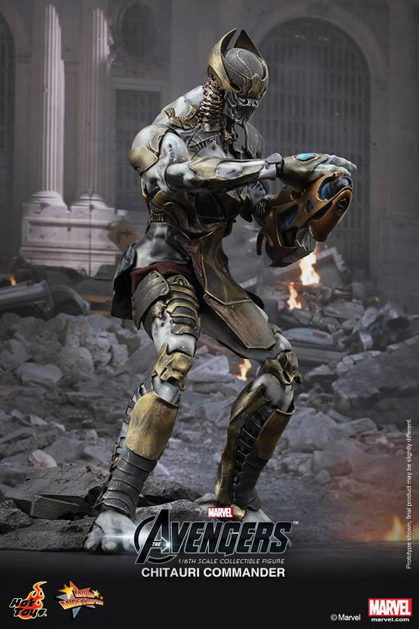 Preview | Hot Toys: Chitauri Commander (4)
