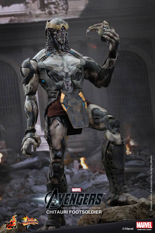 Preview | Hot Toys: Chitauri Footsoldier (5)