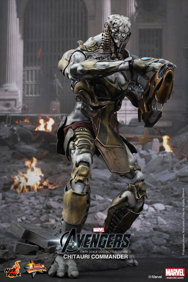 Preview | Hot Toys: Chitauri Commander (5)