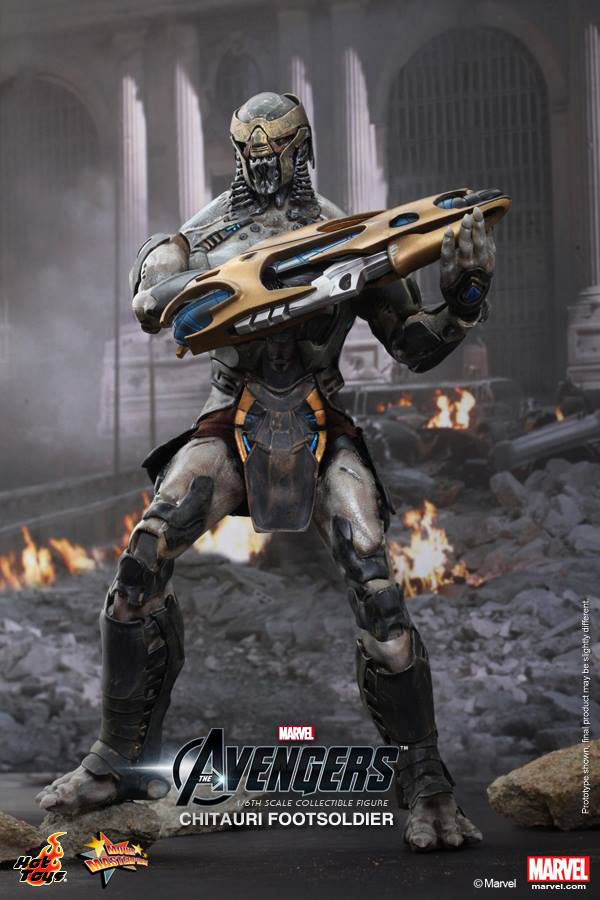 Preview | Hot Toys: Chitauri Footsoldier (6)