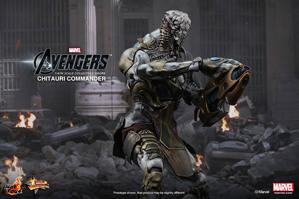 Preview | Hot Toys: Chitauri Commander (6)