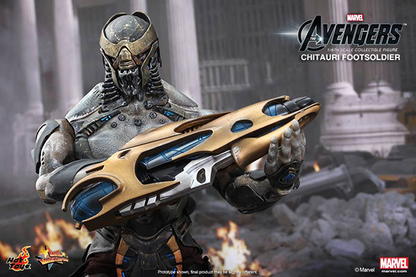 Preview | Hot Toys: Chitauri Footsoldier (7)