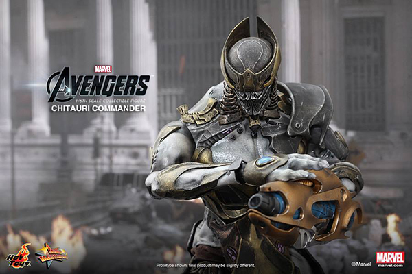 Preview | Hot Toys: Chitauri Commander (7)