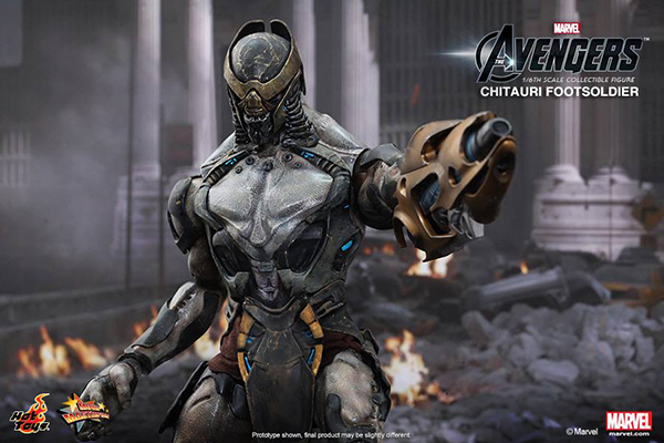 Preview | Hot Toys: Chitauri Footsoldier (8)